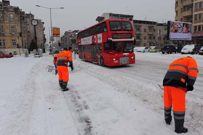 Најстудено во Скопје и Берово   од утре затоплување до нула степени и јужен ветер