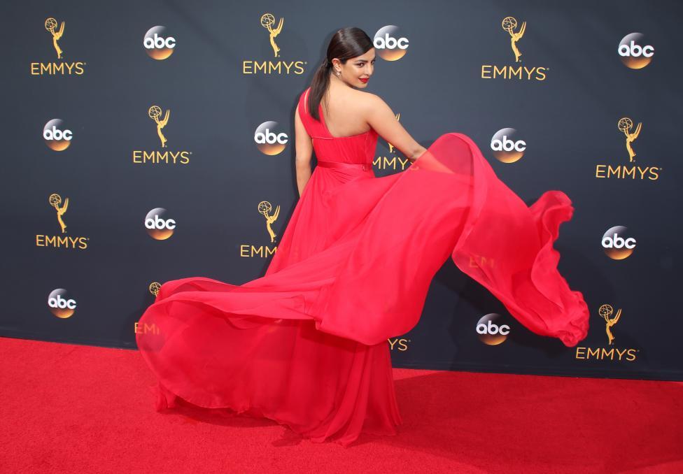 Actress Priyanka Chopra. REUTERS/Lucy Nicholson