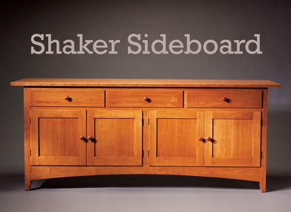 Shaker Sideboard - Popular Woodworking Magazine