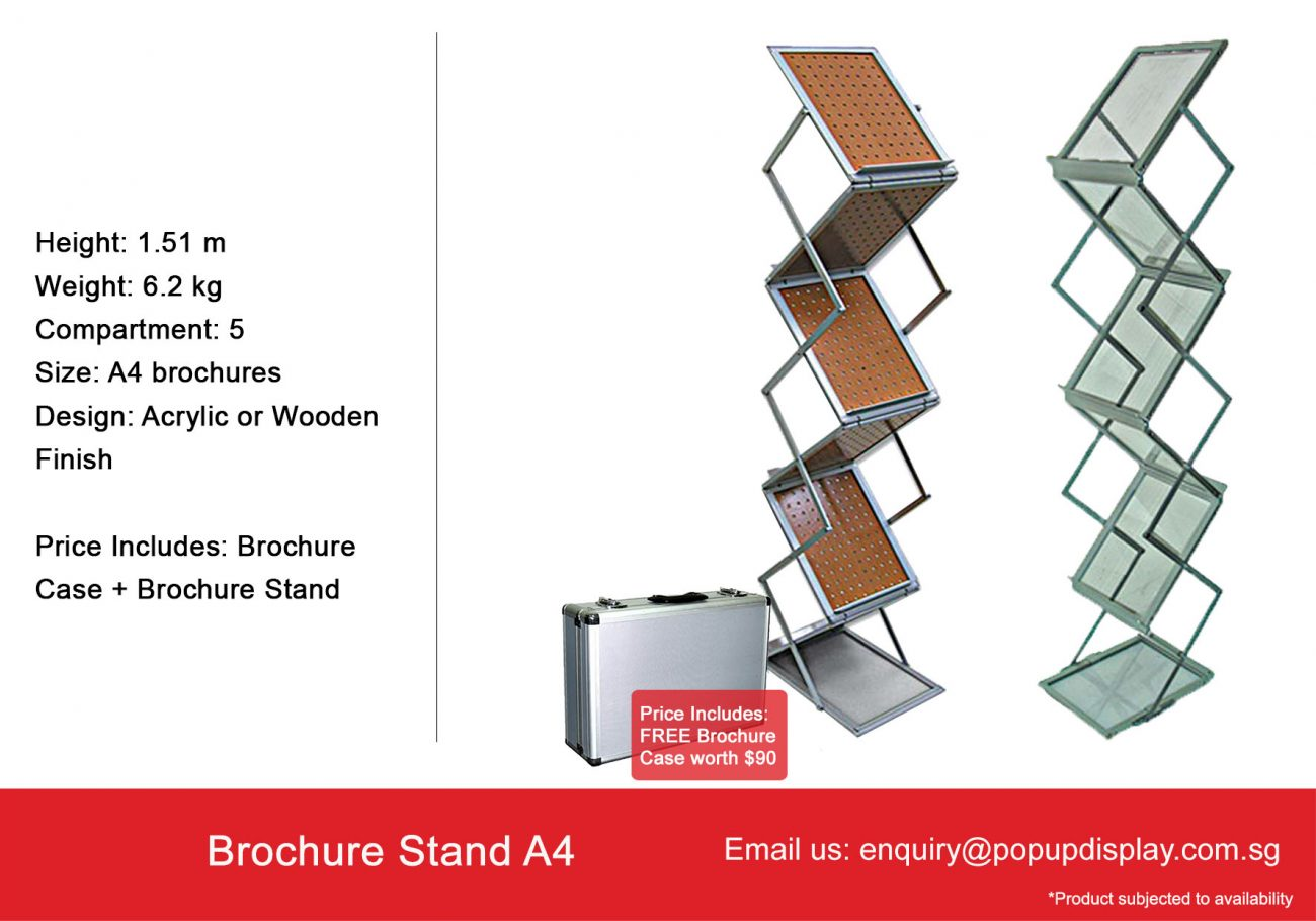 Brochure Stand A4
