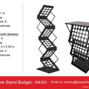 Budget Brochure Stand