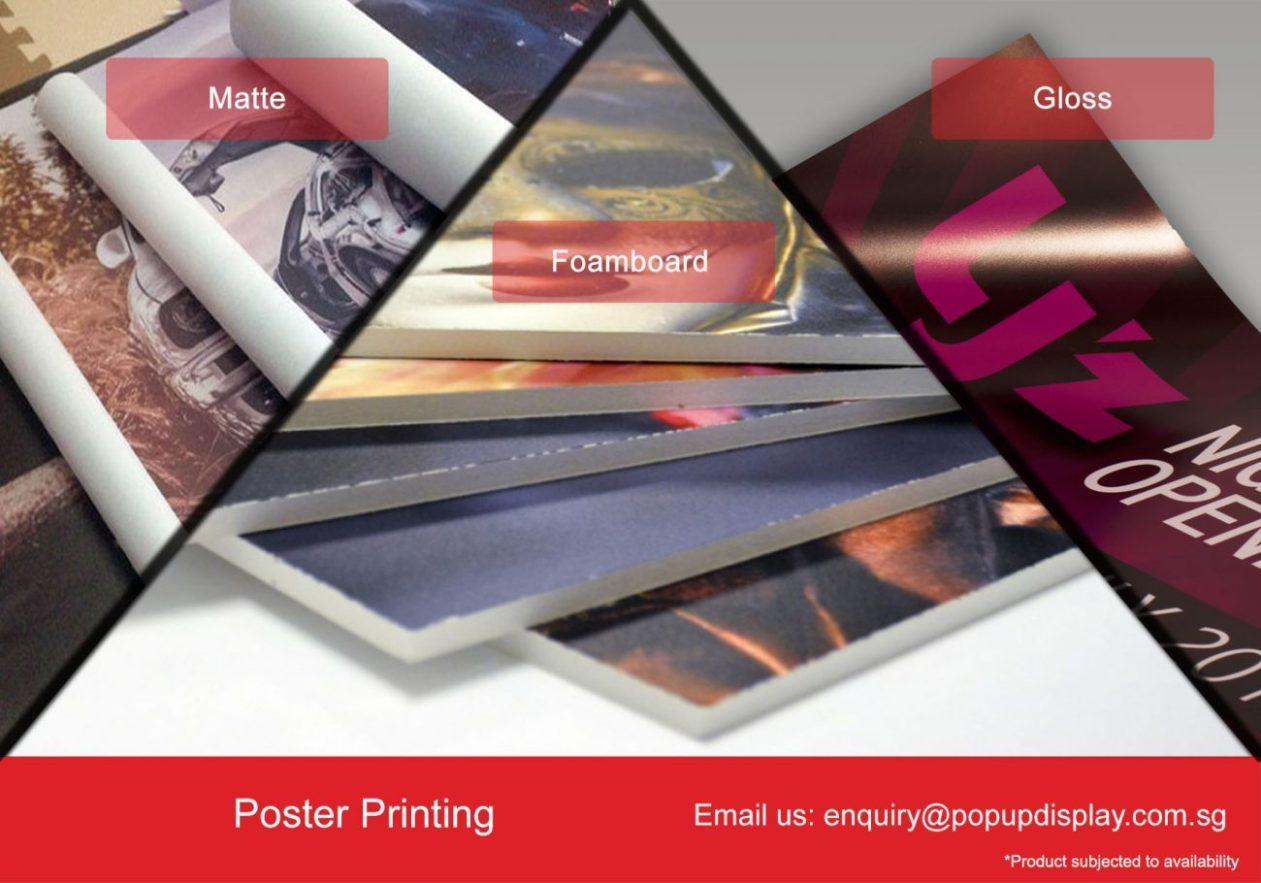 Poster/ Banner/ Foam Board Printing & Poster Snap Frame