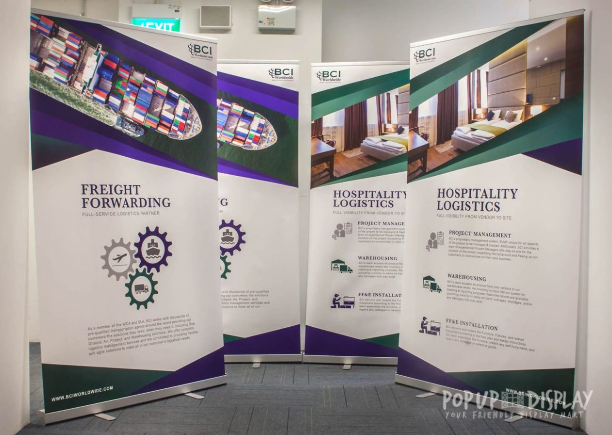 Pull Up Banner   Pull Up Stand   Pull Up Standee (Singapore)