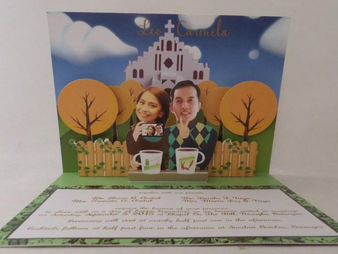 Dubai Wedding Invitation Custom