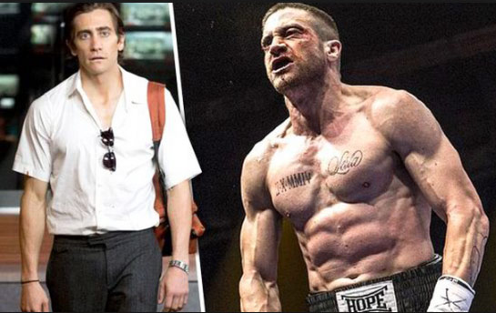 Jake Gyllenhaal Weight Gain For Southpaw