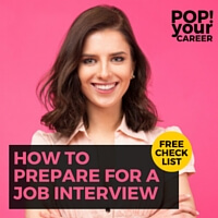 Wondering how to prepare for a job interview? In this post, I share 9 easy to implement tips to make sure that you are 100% prepared for your interview!