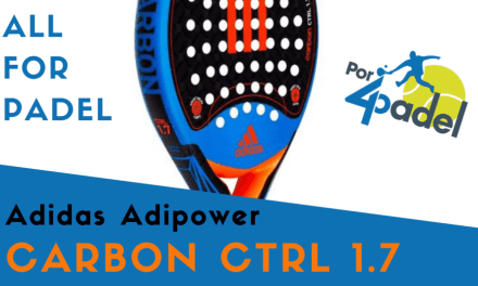 Review Por4Padel: Adidas Carbon Ctrl 1.7 2017