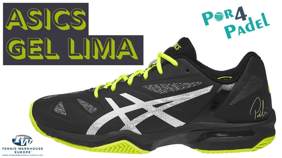 Review Por4Padel: Asics Gel Lima