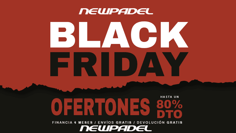 Ya está aquí el Black Friday de New Padel