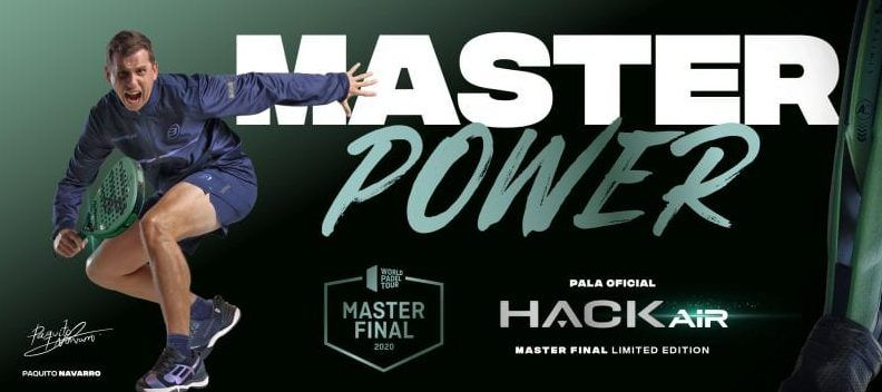 Bullpadel presenta la HACK AIR Master Final
