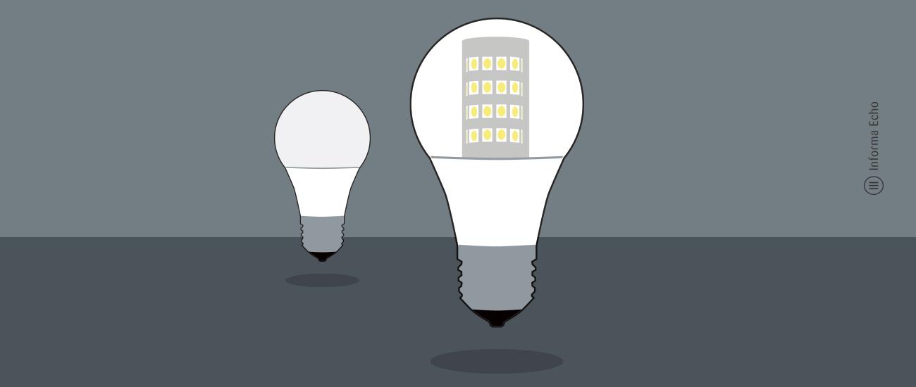 LED žarnica ali LED sijalka? Kateri izraz je bolj primeren? / Porabimanj INFO / Risba: Branko Baćović-zarnica-ali-LED-sijalka_B