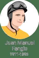 Juan Manuel Fangio / Porabimanj INFO / Ilustracija: Branko Baćović