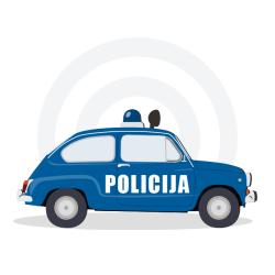 Enota Decibel (dB - 120 db - Policijska sirena / Porabimanj INFO