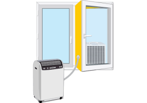 Split prenosne klimatske naprave / Porabimanj INFO