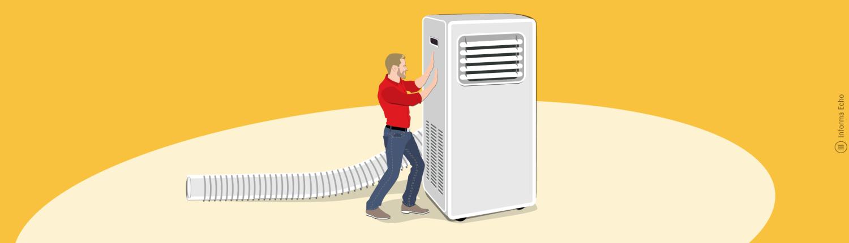 Slabosti prenosne klimatske naprave / PorabimanjINFO / Ilustracija: Branko Baćović