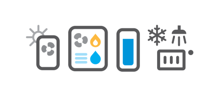 Hibridna toplotna črpalka: plinska kondenzacijska peč in el. toplotna črpalka / PorabimanjINFO