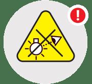 Nasveti za varno uporabo svetilk - Izogibajte se svetlobnim virom rizične skupine 2 / PorabimanjINFO