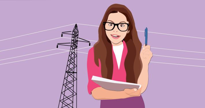 Razlaga računa za električno energijo / PorabimanjINFO / Ilustracija: Branko Baćović