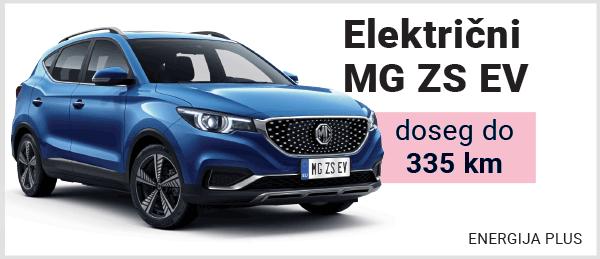 Električni avtomobil MG ZS EV