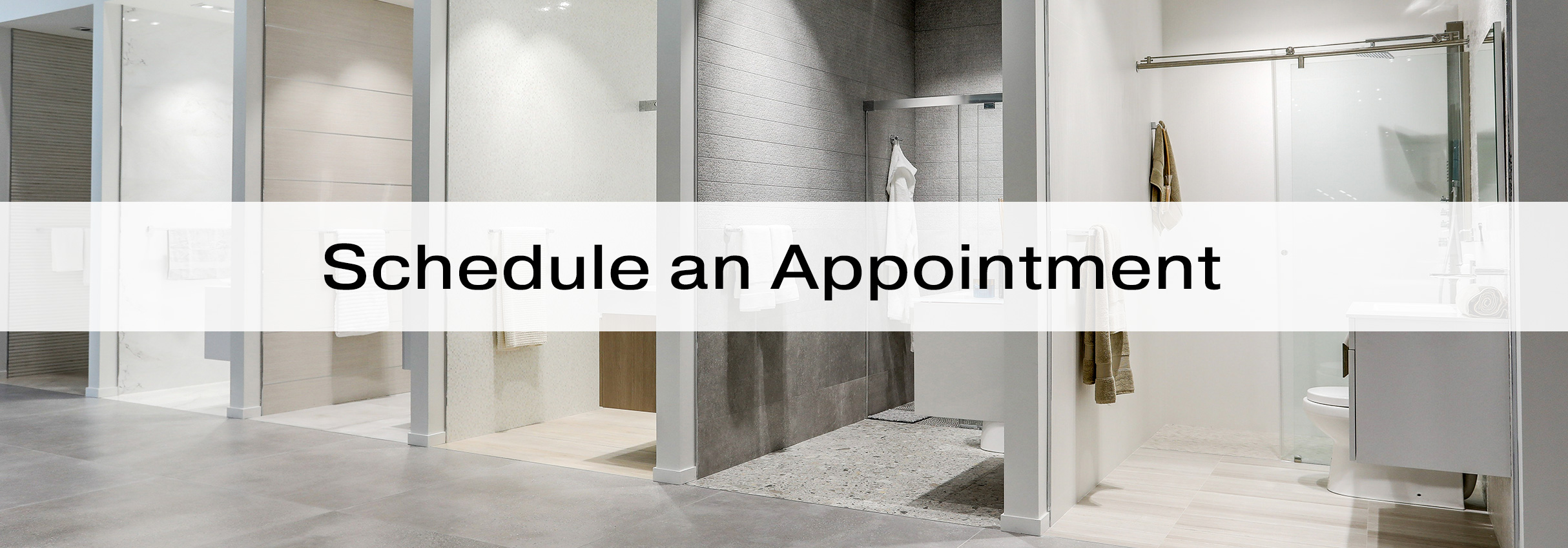 schedule an appointment porcelanosa
