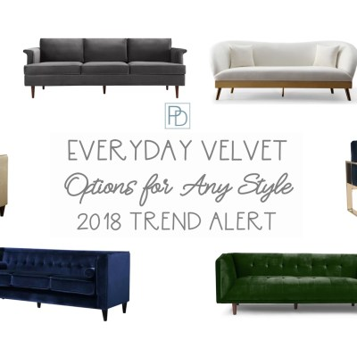 Cozy Up to the Everyday Velvet Trend