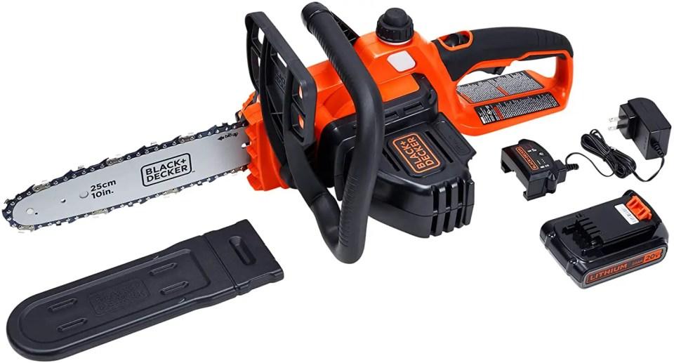 black decker best electric chainsaws