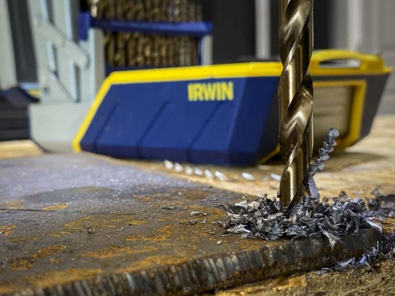 best drill bits for metal and steel