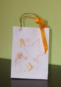 Bolsa de regalo para cumpleaños infantil