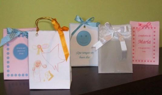 Bolsas de regalo para invitados