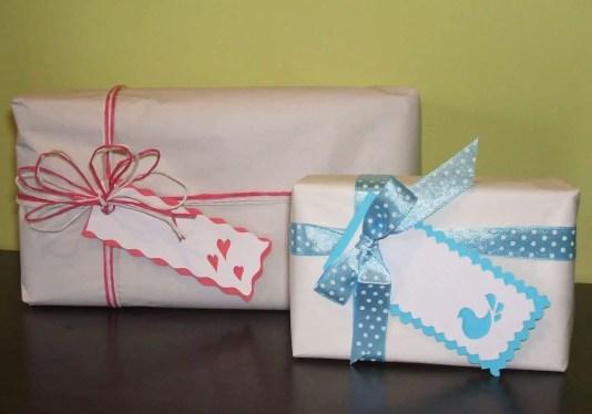 Etiquetas para tus regalos
