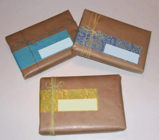 Etiquetas para envíos postales