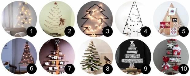 10 arboles de navidad originales