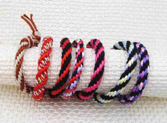 pulseras-cordón-kumihimo