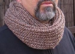 Bufanda Cuello para caballero.