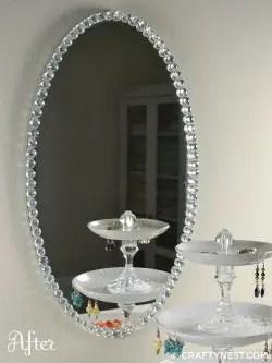 Espejo con cristales