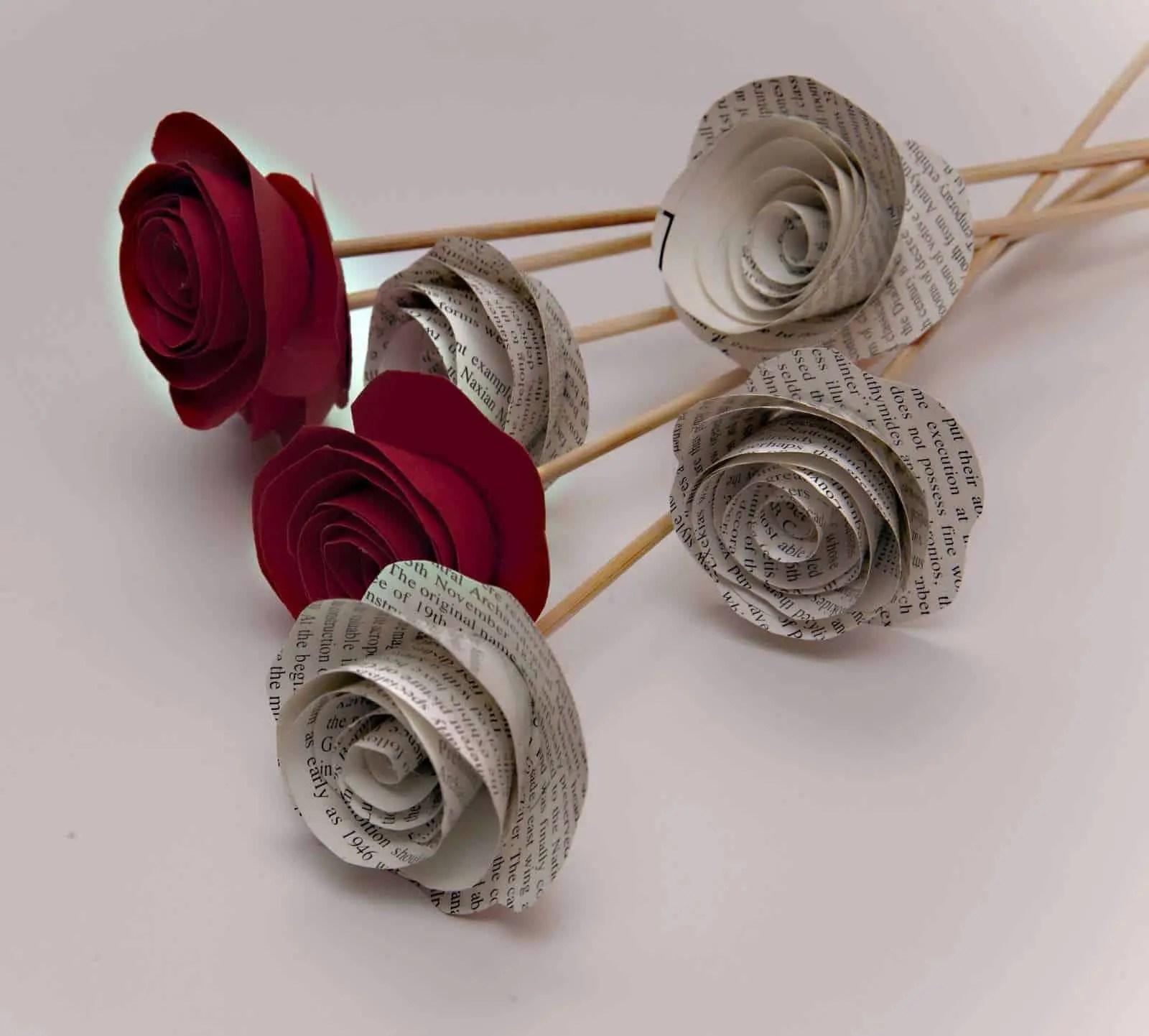 Cmo hacer flores con papel o cartulina