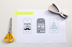 Etiquetas imprimibles para el dia del padre