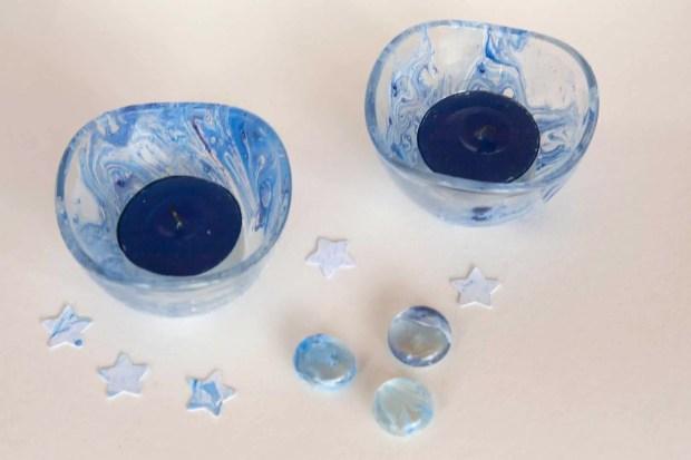 Cómo pintar sobre cristal con esmalte de uñas
