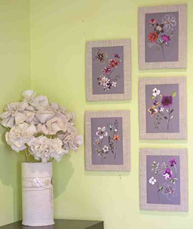 DIY: Transforma tarjetas en cuadros decorativos