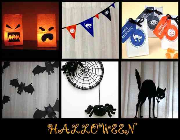 6 ideas fáciles para decorar en Halloween
