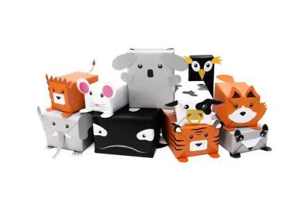 Envolver regalos infantiles animales