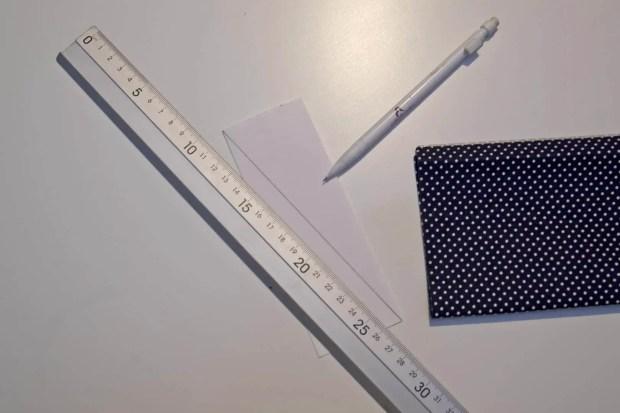 plantilla para hacer guirnalda de banderines