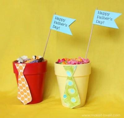dulceros con corbatas para el dia del padre