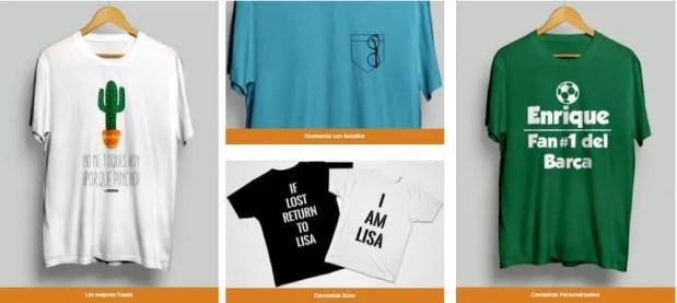 Cómo conseguir una camiseta personalizada sin moverte de casa
