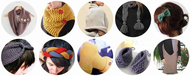 10 Ideas fáciles para tejer con dos agujas - Ideas sencillas para ...