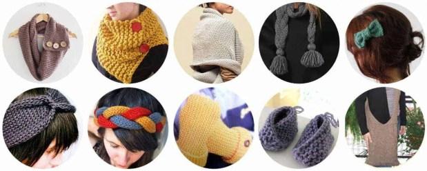 10 Ideas fáciles para tejedoras novatas
