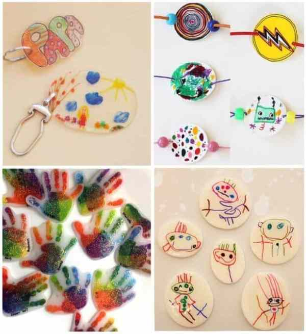 Ideas para hacer manualidades con plástico mágico
