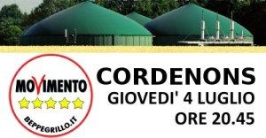 Cordenons, incontro pubblico: Centrali a Biogas