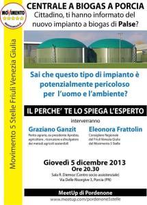 centrale a biogas a Porcia