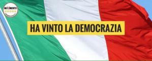 HA VINTO LA DEMOCRAZIA